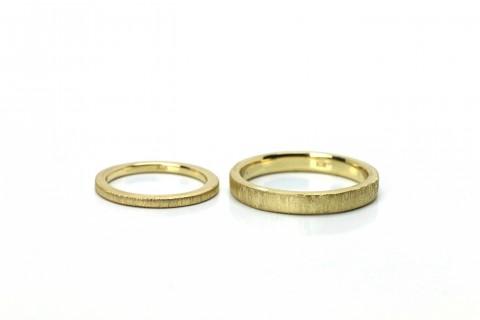 小倉手作り結婚指輪DITIQUE金
