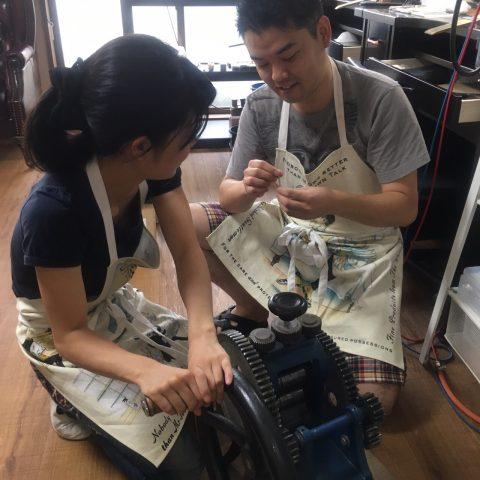 我流鍛造手作り結婚指輪DITIQUE小倉-1