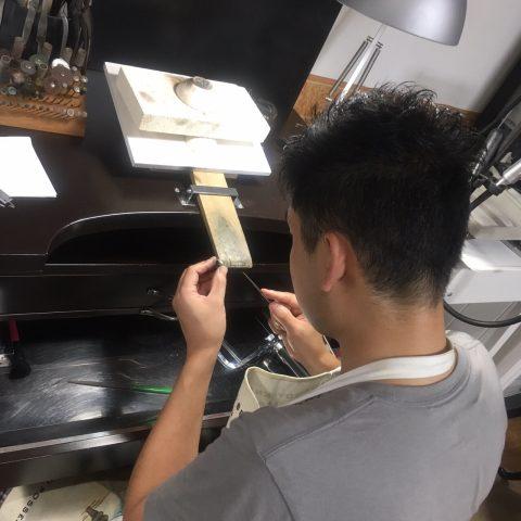 我流鍛造手作り結婚指輪DITIQUE小倉-7
