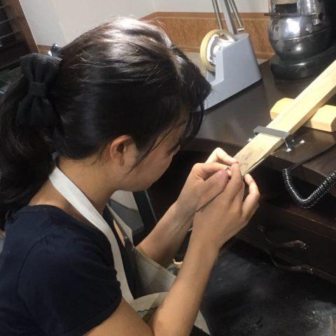 我流鍛造手作り結婚指輪DITIQUE小倉-6