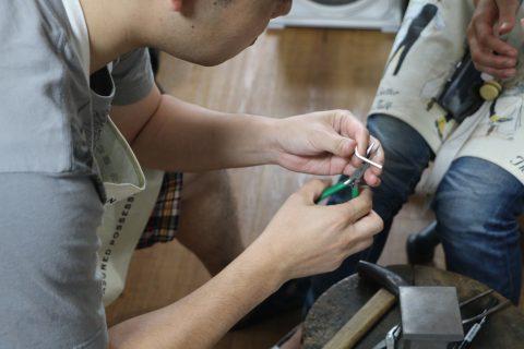 我流鍛造手作り結婚指輪DITIQUE小倉-3