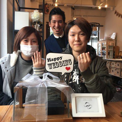 北九州小倉DITIQUE結婚指輪シンプル永遠8月8日
