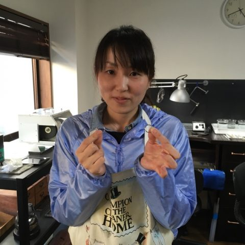 北九州小倉手造り結婚指輪DITIQUE-12