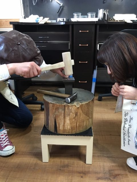 福岡北九州手作り結婚指輪我流鍛造-手作り