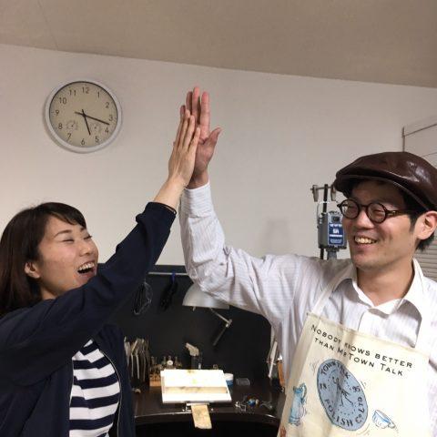 福岡北九州手作り結婚指輪我流鍛造-ハイタッチ