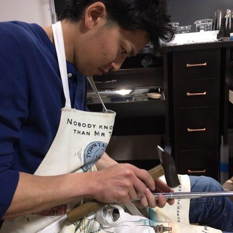 北九州小倉手作り結婚指輪-13