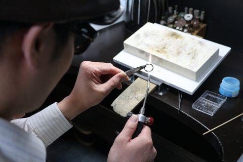 福岡北九州手作り結婚指輪我流鍛造-ロウ付け
