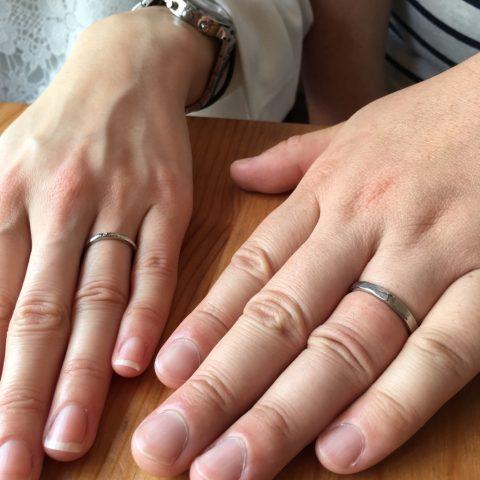 手造り結婚指輪ディティークオーダー