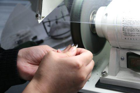 手造り結婚指輪DITIQUE我流鍛造北九州マリッジバフ2