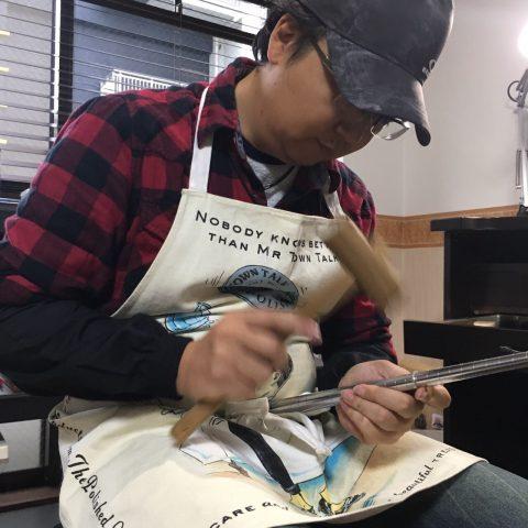 手造り結婚指輪DITIQUE我流鍛造北九州鍛造