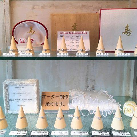 福岡北九州小倉ジュエリーDITIQUEエンゲージ婚約指輪
