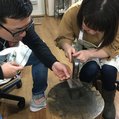 福岡北九州小倉手造り結婚指輪DITIQUE我流鍛造ゼクシィ