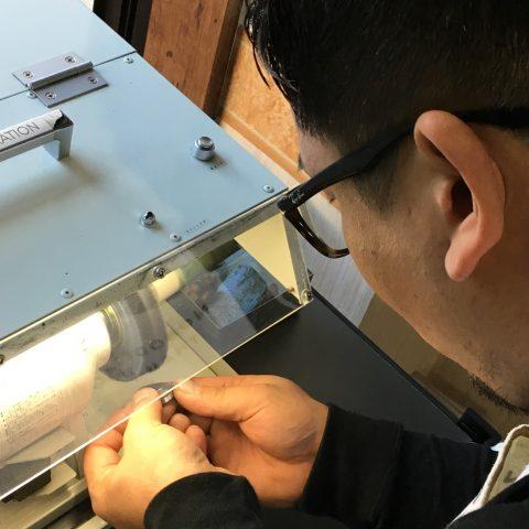 福岡北九州手造り結婚指輪DITIQUE我流鍛造バフゼクシィ
