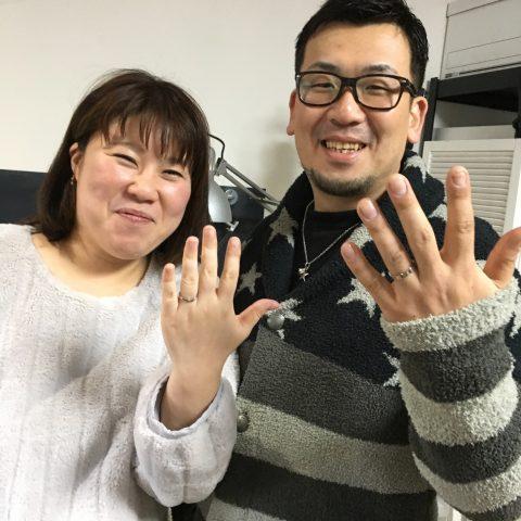 手造りスター星結婚指輪北九州小倉DITIQUEスマイルゼクシィ