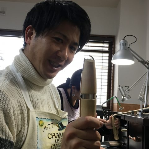 福岡結婚指輪北九州小倉DITIQUE我流鍛造プラチナ加工