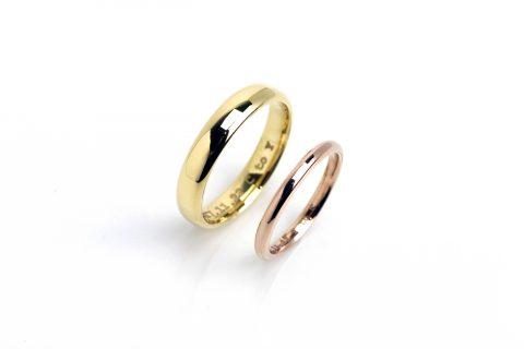 福岡ジュエリー北九州DITIQUE小倉結婚指輪鍛造
