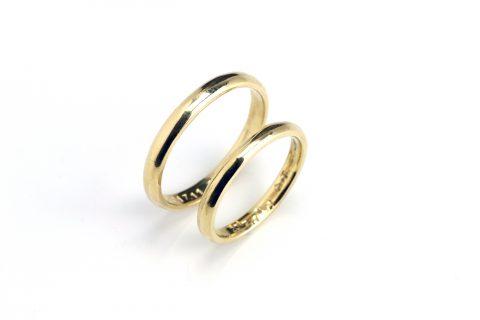 鍛造手造り福岡小倉結婚指輪DITIQUET様マリッジリング手作り