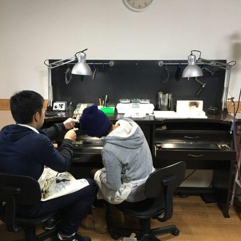 鍛造手造り福岡小倉結婚指輪DITIQUE協力