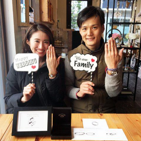 オーダーメイド結婚指輪福岡北九州DITIQUE小倉マリッジリングかわいいかっこいい