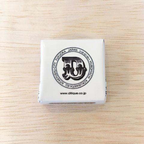 バレンタインチョコレートDITIQUEオリジナルデザイン福岡小倉ロゴ