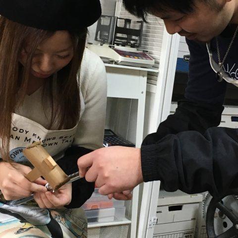 福岡北九州大分DITIQUE手づくり結婚指輪M様ハート楽しい
