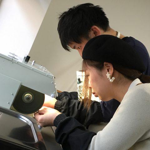 福岡北九州大分DITIQUE手づくり結婚指輪M様ハートバフ体験