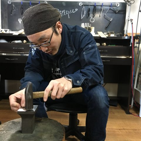 手づくり結婚指輪我流鍛造DITIQUE福岡北九州小倉職人