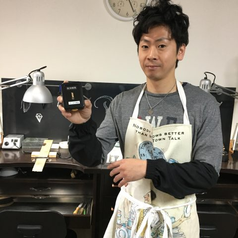 手造りリング鍛造自分でDITIQUE福岡北九州小倉