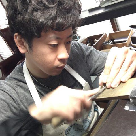 手造りリング鍛造自分でDITIQUE福岡北九州小倉削る