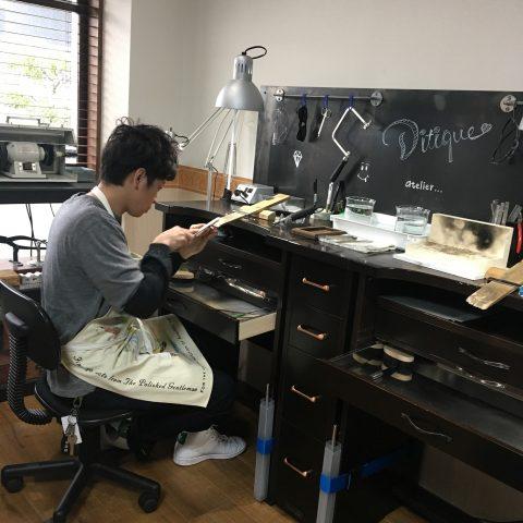 手造りリング鍛造自分でDITIQUE福岡北九州小倉集中