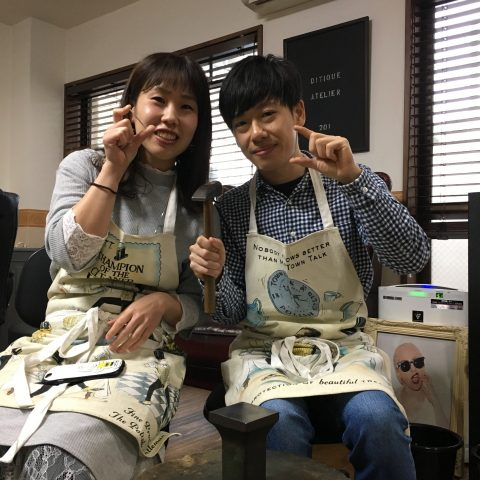 福岡手づくり結婚指輪DITIQUE小倉鍛造-1