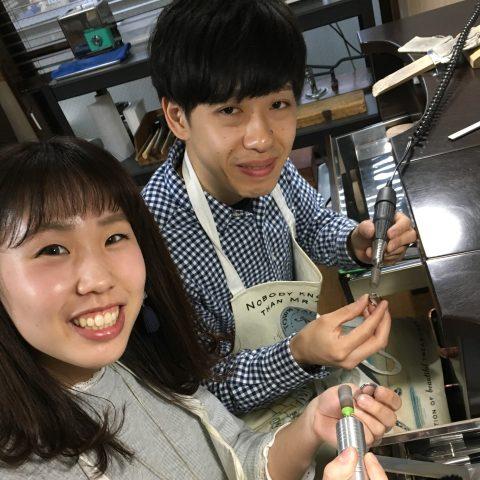 福岡手づくり結婚指輪DITIQUE小倉リューター-2