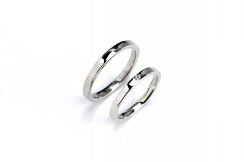 M様福岡手づくり結婚指輪DITIQUE小倉鍛造