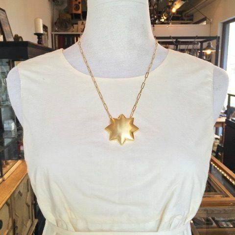 Dead stock motif necklaceSoierieDITIQUE福岡ネックレススター