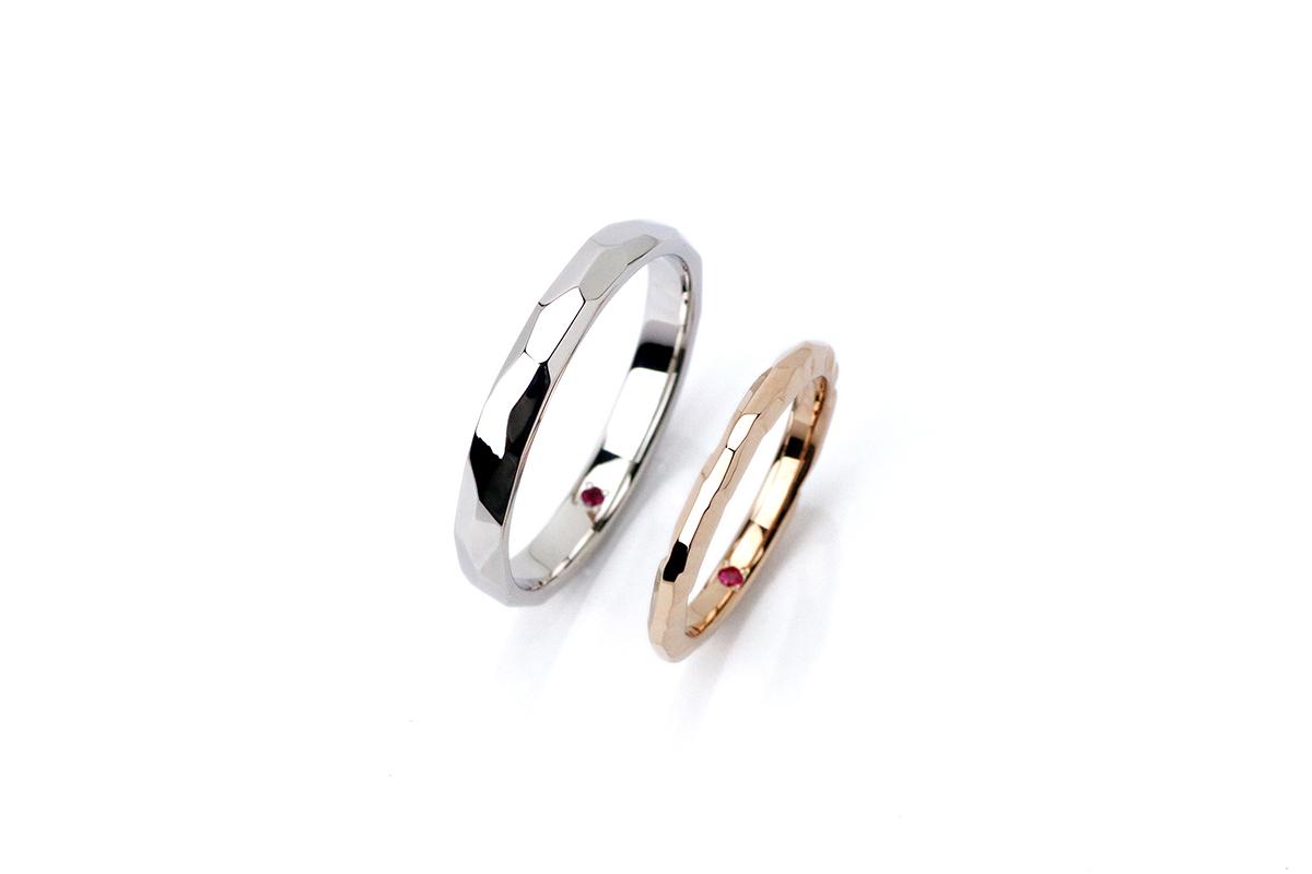 手作り結婚指輪制作流れ