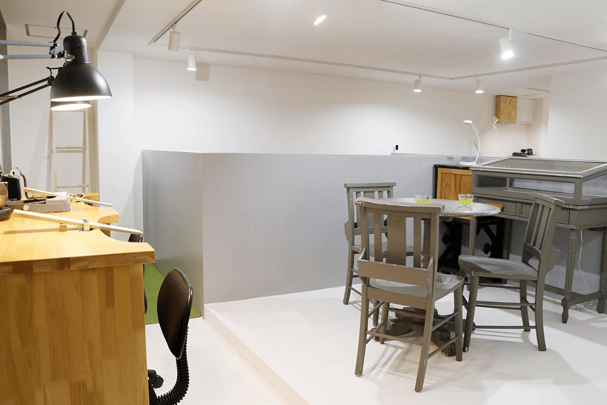 ディティーク福岡ラボの店内画像