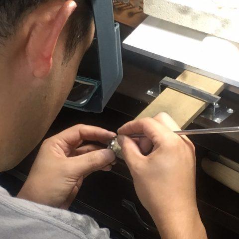 我流鍛造手作り結婚指輪DITIQUE小倉-9