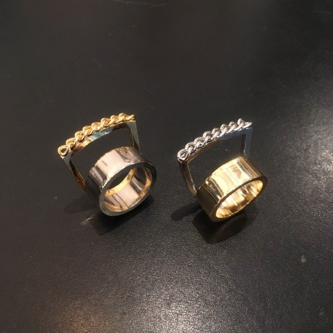 Soierie(ソワリー)ディティーク新作Wire ring