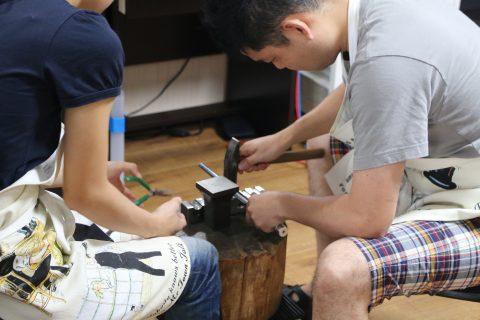 我流鍛造手作り結婚指輪DITIQUE小倉-4