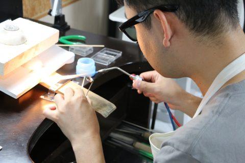 我流鍛造手作り結婚指輪DITIQUE小倉-5