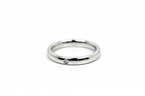 福岡北九州DITIQUEK様奥様結婚指輪HIROUMIマリッジリング