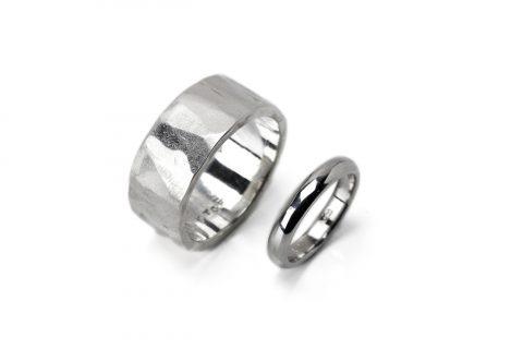 小倉我流鍛造手造り結婚指輪室町ディティーク-13