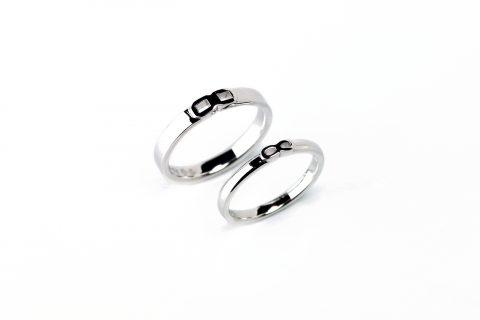 北九州小倉DITIQUE結婚指輪シンプル永遠