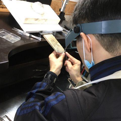 北九州小倉手造り結婚指輪DITIQUE-4