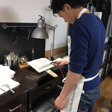 北九州小倉手作り結婚指輪-3