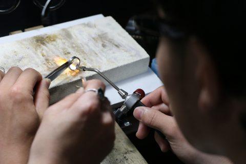 北九州小倉手作り結婚指輪-7