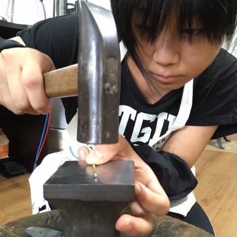 我流鍛造手造りマリッジリング北九州