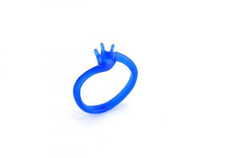 DITIQUE我流婚約手造り婚約指輪WAX原型