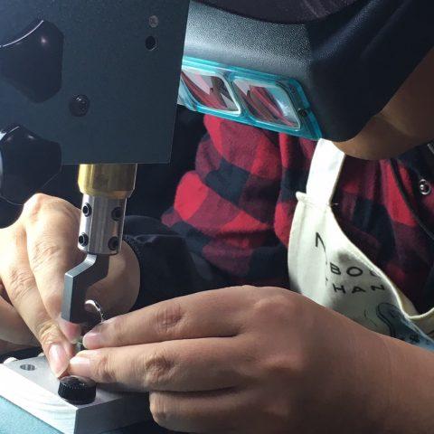 手造り結婚指輪DITIQUE我流鍛造北九州刻印