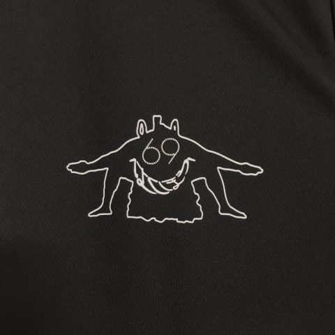 横綱白鵬DITIQUE土井大相撲九州場Tシャツ表